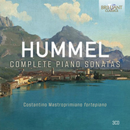Produktbilde for Hummel: Complete Piano Sonatas (3CD)