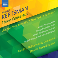 Produktbilde for Kertsman: Three Concertos; Chamber Symphony No. 2 (CD)