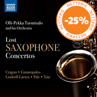 Produktbilde for Lost Saxophone Concertos (CD)