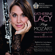 Produktbilde for Katherine Lacy Plays Mozart (CD)