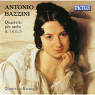 Produktbilde for Bazzini: String Quartets Nos. 1 And 3 (CD)