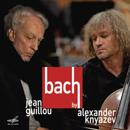 Produktbilde for Bach By Alexander Knyazev And Jean Guillou (CD)
