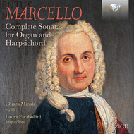 Produktbilde for Marcello: Complete Sonatas For Organ And Harpsichord (3CD)
