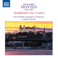 Produktbilde for Moyzes: Symphonies Nos. 5 And 6 (CD)