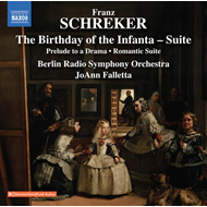 Produktbilde for Schreker: The Birthday Of The Infanta (Suite); Prelude To A Drama; Romantic Suite (UK-import) (CD)