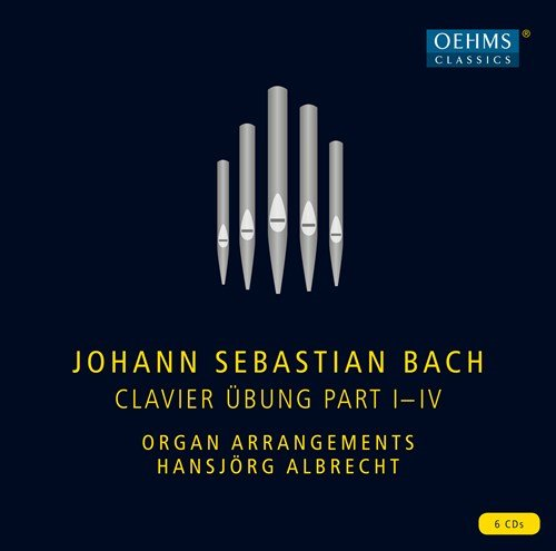 Bach: Clavier Übung Part I-IV (6CD)