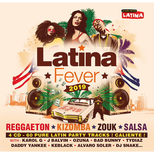 Latina Fever 2019 (4CD)