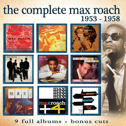 The Complete Max Roach 1953-58 (4CD)