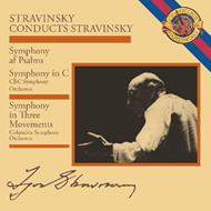 Stravinsky Conducts Stravinsky: Symphony In Three Movements (CD)