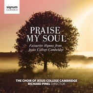 Produktbilde for Praise My Soul: Favourite Hymns From Jesus College Cambridge (CD)