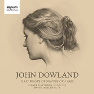 Produktbilde for Dowland: First Booke Of Songes Or Ayres (CD)