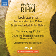 Produktbilde for Rihm: Music For Violin And Orchestra, Vol. 1 (CD)