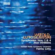 Produktbilde for Witold: Symphonies Nos. 1 & 4; Jeux Vénitiens (SACD-Hybrid)