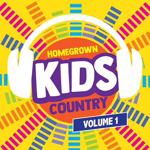 Homegrown Kids Country Volume 1 (CD)