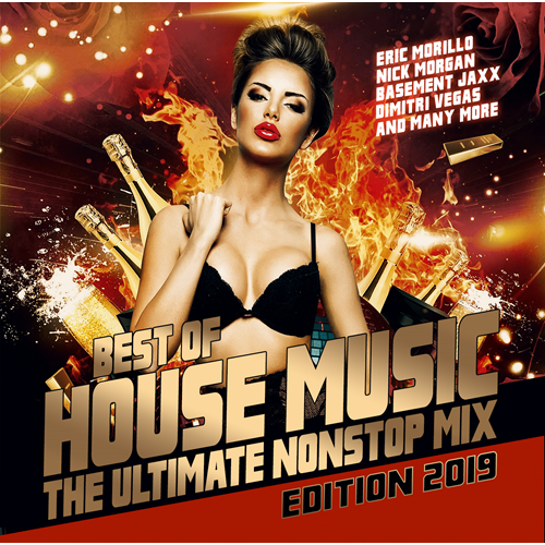 Best Of House Music Nonstop Mix (CD)