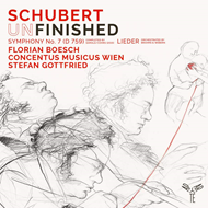 Schubert: Unfinished Symphony No. 7 (Ed. Samale/Cohrs) & Lieder (CD)