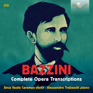 Produktbilde for Bazzini: Complete Opera Transcriptions (5CD)