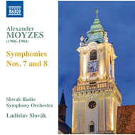 Produktbilde for Moyzes: Symphonies Nos. 7 & 8 (CD)