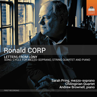 Produktbilde for Corp: Letters From Lony (CD)