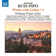 Produktbilde for Ruiz-Pipó: Works With Guitar, Vol. 1 (CD)