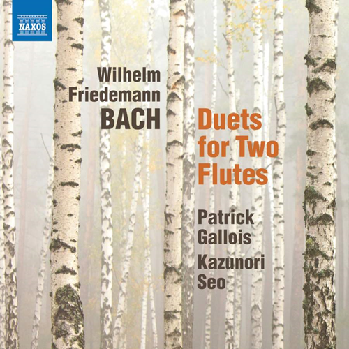 W. F. Bach: Duets For 2 Flutes (CD)