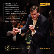 Strauss: Horn Concerto No. 1; Serenade (2CD)