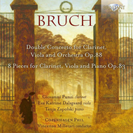 Bruch: Double Concerto For Clarinet, Viola And Orchestra, Op.88; 8 Pieces, Op.83 (CD)