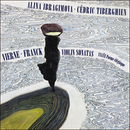 Produktbilde for Vierne & Franck: Violin Sonatas (CD)