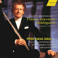 Produktbilde for Bach: Flauto Traverso Obbligato! Arias From Cantatas (UK-import) (2CD)