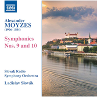 Produktbilde for Moyzes: Symphonies Nos. 9 And 10 (UK-import) (CD)
