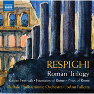 Produktbilde for Respighi: Roman Trilogy: Roman Festivals; Fountains Of Rome; Pines Of Rime (CD)