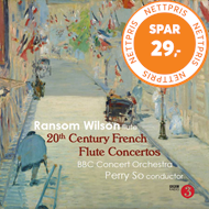 Produktbilde for 20th Century French Flute Concertos (UK-import) (CD)