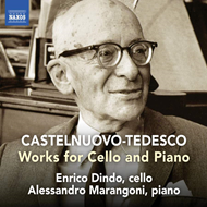 Produktbilde for Castelnuovo-Tedesco: Works For Cello And Piano (CD)
