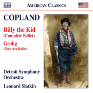 Produktbilde for Copland: Billy The Kid (Complete Ballet); Grogh (CD)