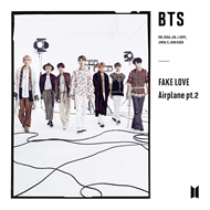 Produktbilde for Fake Love / Airplane Pt. 2 (Book) (USA-import) (CD)