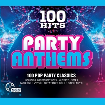 100 Hits - Party Anthems (5CD)