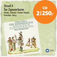 Produktbilde for Strauss: Der Zigeunerbaron (2CD)