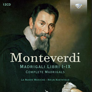 Produktbilde for Monteverdi: Complete Madrigals (12CD)