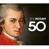Produktbilde for 50 Best Mozart (3CD)