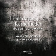 Produktbilde for Schumann: Liederkreis & Kernerlieder (CD)
