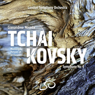 Produktbilde for Tchaikovsky: Symphony No. 4 & Mussorgsky: Pictures At An Exhibition (SACD-Hybrid)