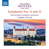 Produktbilde for Moyzes: Symphonies Nos. 11 And 12 (CD)