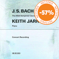 Produktbilde for Keith Jarrett - Bach: The Well-Tempered Clavier, Book I (2CD)