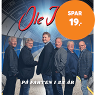 Produktbilde for På Farten I 55 År! (CD)
