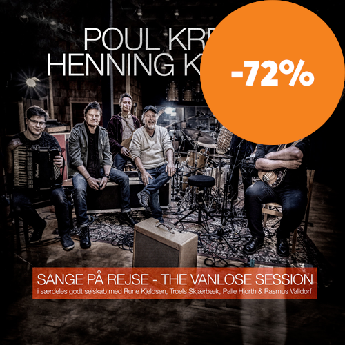 Sange På Rejse - The Vanlose Session (CD)