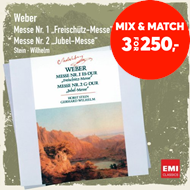 Produktbilde for Weber: Masses No. 1 & 2 (CD)