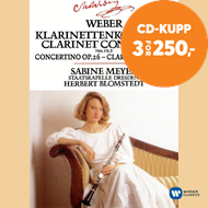 Produktbilde for Weber : Clarinet Concertos 1 & 2 (CD)