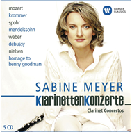 Produktbilde for Klarinettenkonzerte / Clarinet Concertos (5CD)