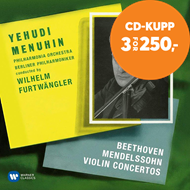 Produktbilde for Beethoven & Mendelssohn: Violin Concertos (CD)
