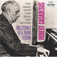 Produktbilde for Milestones Of A Piano Legend (10CD)